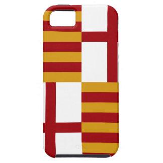 バルセロナ(スペイン)の旗 iPhone SE/5/5s ケース