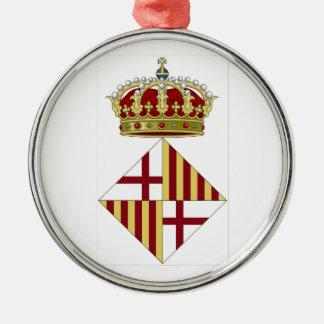 バルセロナ(スペイン)の紋章付き外衣 メタルオーナメント