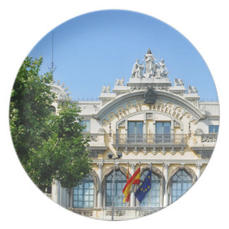 バルセロナ、スペイン プレート