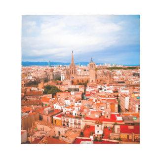 バルセロナ ノートパッド
