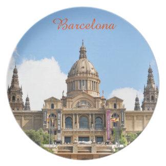 バルセロナ プレート