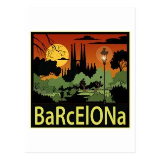 バルセロナ ポストカード