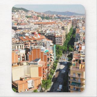 バルセロナ マウスパッド