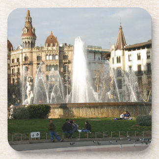 バルセロナ--広場--Catalunya--[kan.k] .JPG ドリンクコースター