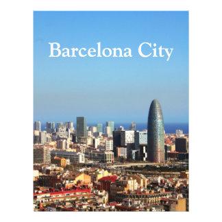 バルセロナ|都市景観 チラシ広告