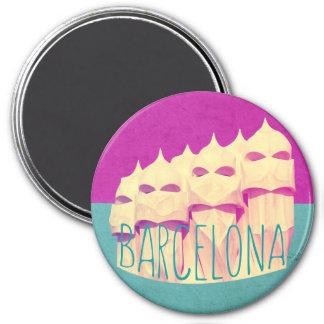 バルセロナGaudiの楽園の磁石 マグネット