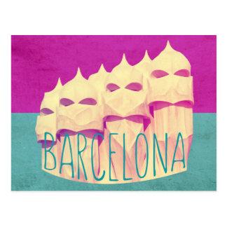バルセロナGaudiの楽園 ポストカード