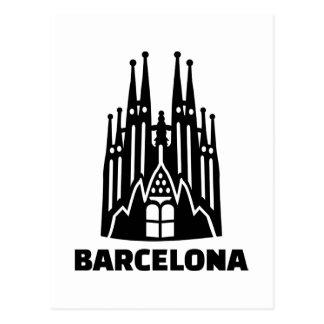 バルセロナSagrada Familia ポストカード
