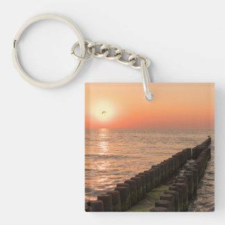 バルト海の日没 キーホルダー
