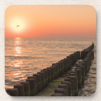 バルト海の日没 コースター