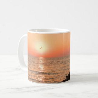 バルト海の日没 コーヒーマグカップ