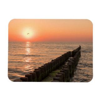 バルト海の日没 マグネット