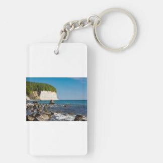 バルト海の海岸の白い崖 キーホルダー
