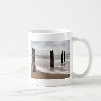 バルト海の海岸のGroynes コーヒーマグカップ