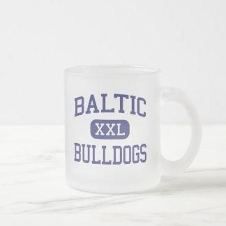 バルト海の-ブルドッグ-高バルト海のサウスダコタ フロストグラスマグカップ