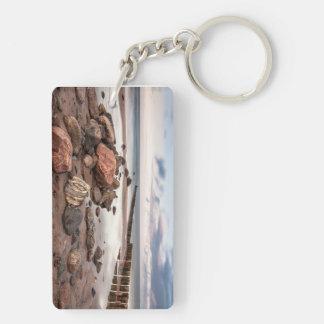バルト海のGroyneそして石は惰走します キーホルダー