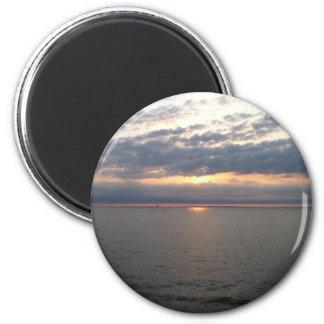 バルト諸国上の日没 マグネット