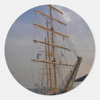 バルナの高い船 ラウンドシール