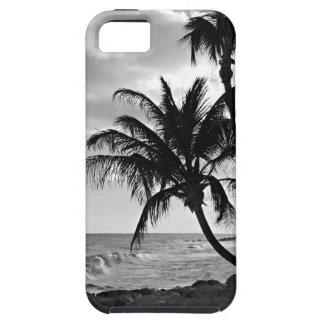 バルバドスのヤシの木のビーチ iPhone SE/5/5s ケース