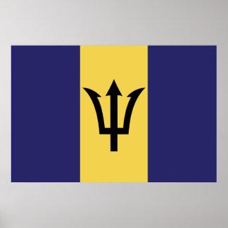バルバドスの旗ポスター ポスター