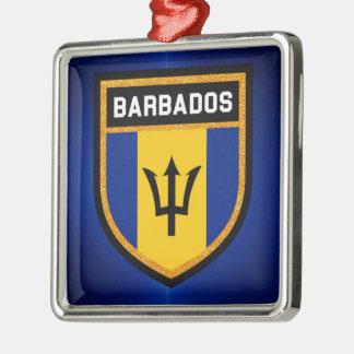 バルバドスの旗 メタルオーナメント
