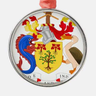 バルバドスの紋章付き外衣 メタルオーナメント