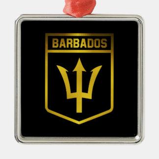バルバドスの紋章 メタルオーナメント