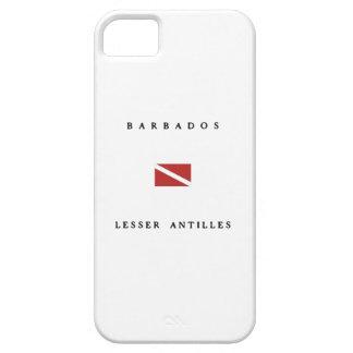 バルバドス小アンティル諸島のスキューバ飛び込みの旗 iPhone SE/5/5s ケース