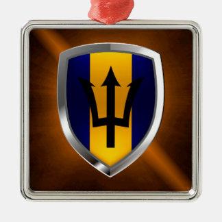 バルバドスMettalicの紋章 メタルオーナメント