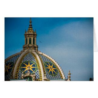 バルボア公園のサンディエゴのドームの星 カード