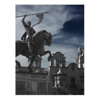 バルボア公園の彫像 ポストカード