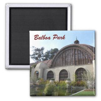 バルボア公園の植物園-サンディエゴ マグネット