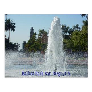 バルボア公園サンディエゴ、カリフォルニア ポストカード