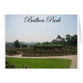 バルボア公園4 カード