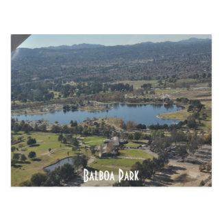 バルボア公園 ポストカード