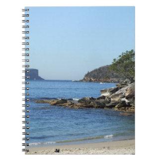 バルモラルのビーチのノート ノートブック