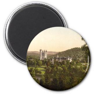 バルモラルの城、王室のなDeeside、スコットランド マグネット