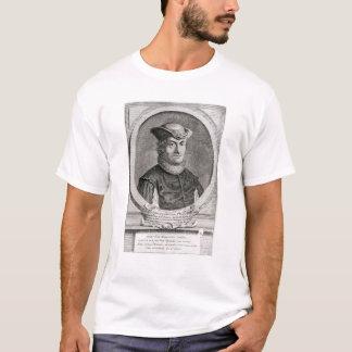 バルークまたはベネディクトSpinozaのポートレート Tシャツ