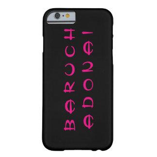 バルークAdonai (Blessed主はです) Barely There iPhone 6 ケース