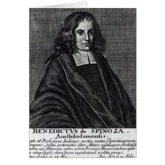 バルークde Spinoza カード