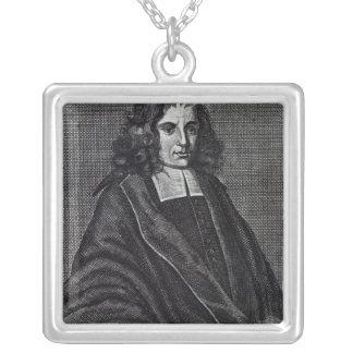 バルークde Spinoza シルバープレートネックレス