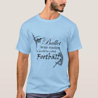 バレエがあったら… Tシャツ(カスタマイズ可能な) Tシャツ