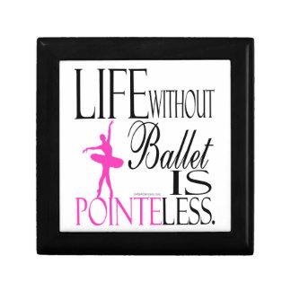 バレエのギフト用の箱-バレエのない生命はあります ギフトボックス