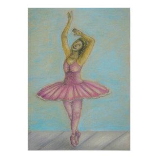 バレエのダンス カード