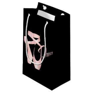 バレエのバレリーナのピンクのPointeの靴のダンスSGB スモールペーパーバッグ