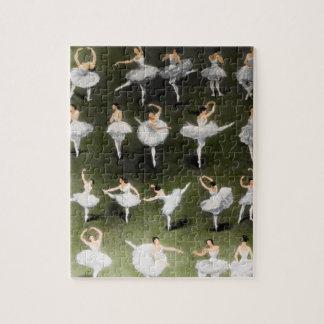 バレエのパズル ジグソーパズル