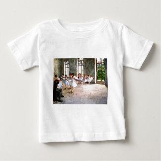 バレエのリハーサル ベビーTシャツ