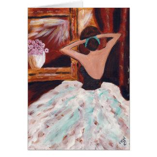 バレエの前 カード