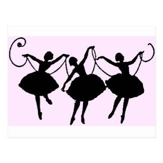 バレエの商品 ポストカード