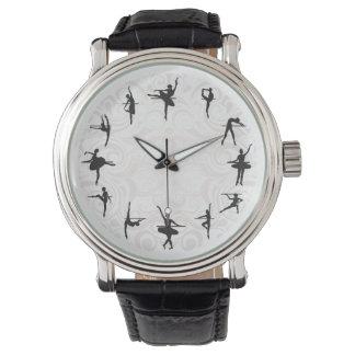 バレエの学校のバレリーナのダンスの先生の腕時計 腕時計